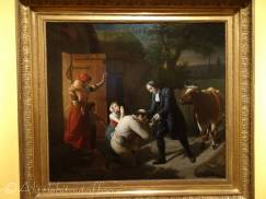 C8 Fénélon returns a Stolen Cow to a Peasant by Louis Hersent (1810)