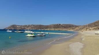 Elia beach. Mykonos
