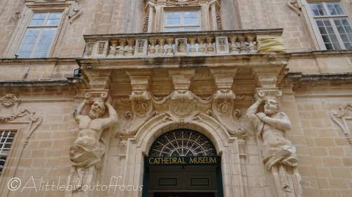 19 Mdina Cathedral Museum entrance