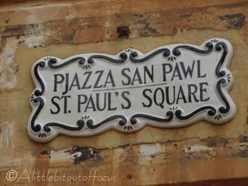 4 Street plaque