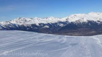 25 Lone skier