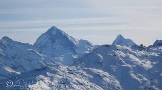 8 Dent Blanche (L) and Matterhorn (R)