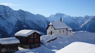 13 Mary of the Snow Chapel, Bettmeralp (completed 1697)