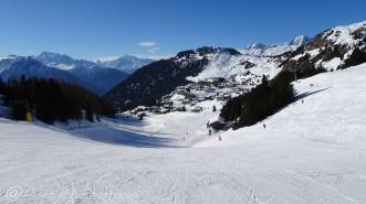 2 Piste down to Riederalp