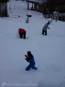 3 Building the snowman