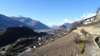 10 Rhone valley, looking west
