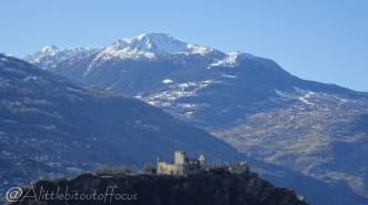 11 Bec de Nendaz above Tourbillon Castle