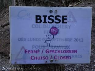 17 Bisse closed