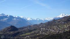 3 View over the Rhone valley
