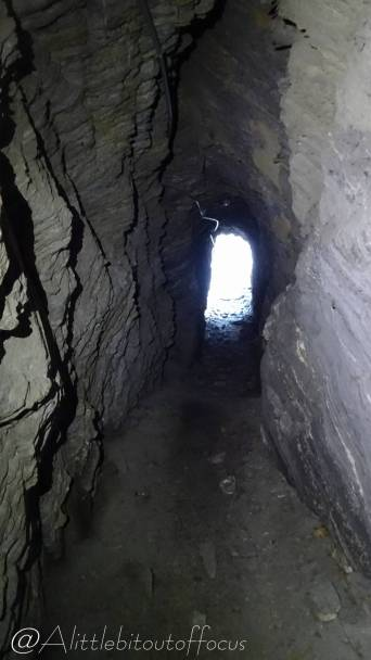 34 Tunnel exit (only 3 feet high)