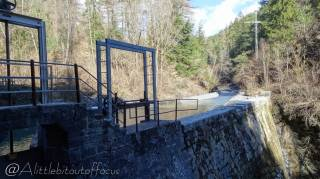 35 Dam and reservoir for the Bisse de Clavau