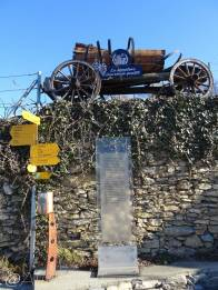 5 Vineyard sign and old vehicle