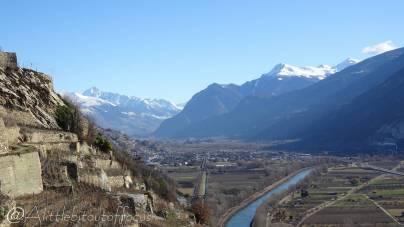 9 Rhone valley, looking east