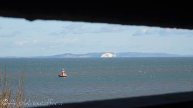 10 White cliffs and boat from bunker