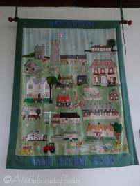 12 Millenium Wall Hanging (done by the local needlework group in 2000)