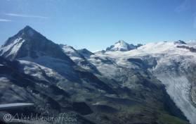 13 Dent Blanche, Dent d'Hérens and Ferpecle glacier