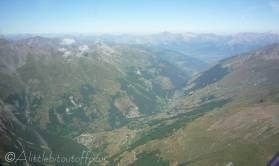 15 Evolène valley (Rhone valley in the distance)