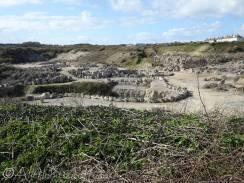 15 Portland stone quarry
