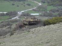18 Old Army tank on the Ranges