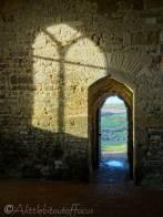 25 Evening light inside the chapel