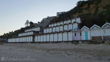 27 Beach huts