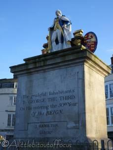 28 George III statue, Weymouth
