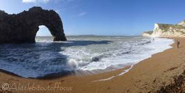7 Durdle Door beach