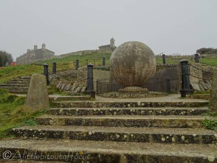 7 Globe at Durlston Castle