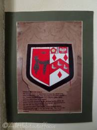 7 Mohune crest inside Old Fleet church