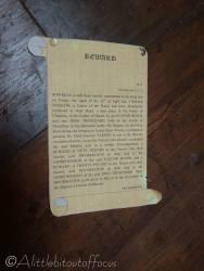 9 Reward for apprehension of John Trenchard and Elzevir Block