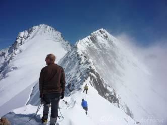 11 Grunegghorn ridge