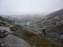 8 Approaching the Aletsch glacier